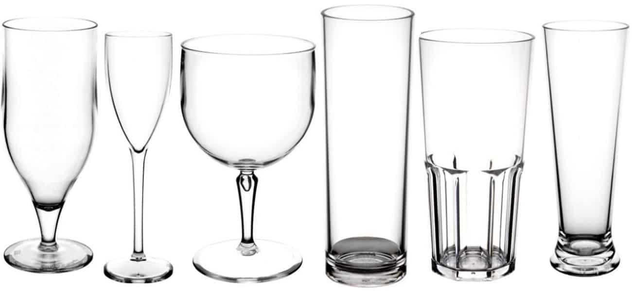 vasos policarbonato